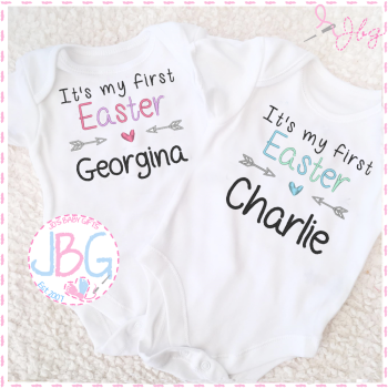 1st Easter Personalised Vest