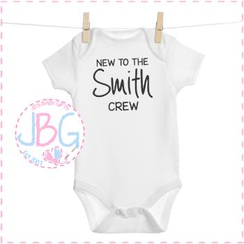 New to the Crew - Baby Unisex Vest