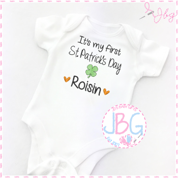 1st St.Patrick's Day - Baby Vest