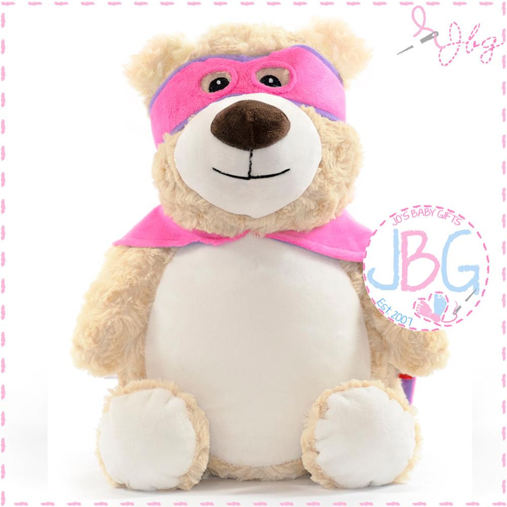 Hero Pink Cubby Bear