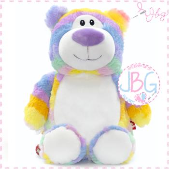 Cubbyford - Pastel Rainbow Bear