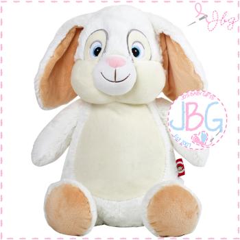 White Clovis Brampton Cubby Bunny