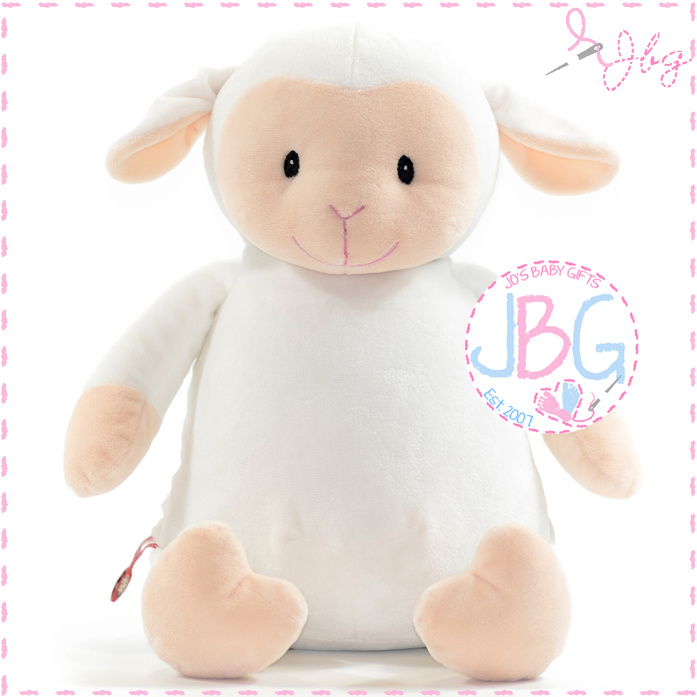Loverby Cubby Plush Lamb