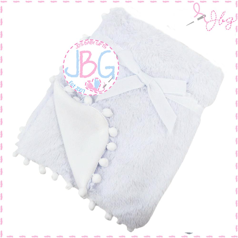 Deep Fluffy White Blanket