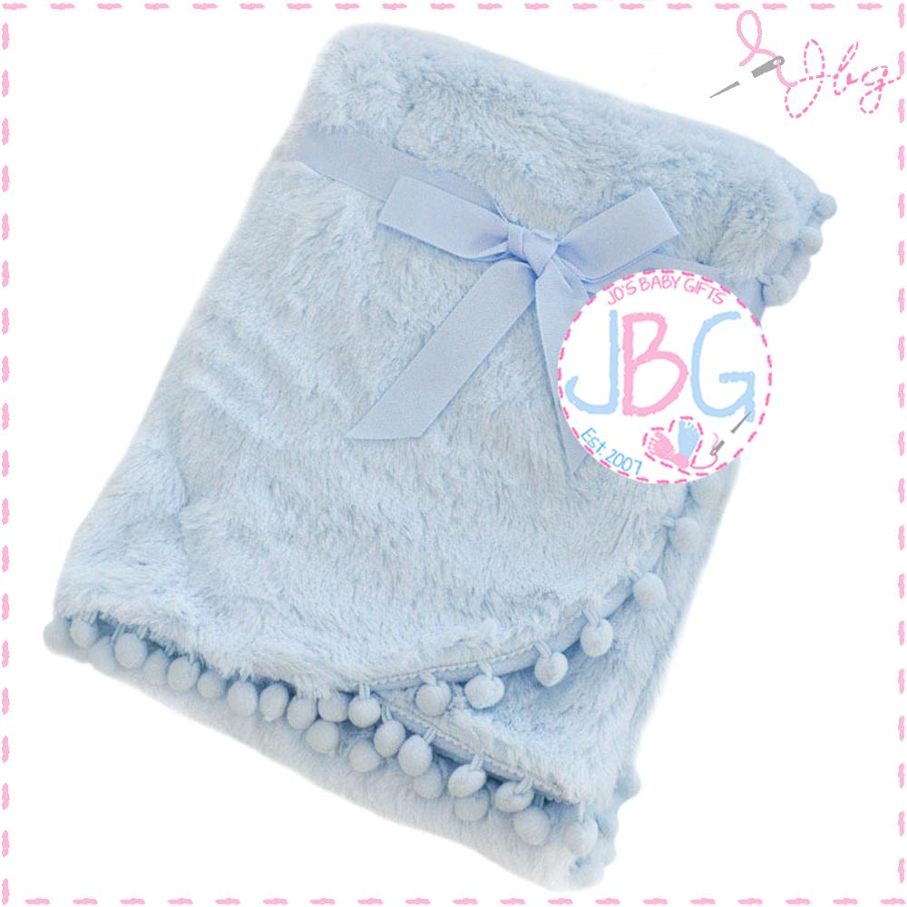 Deep Fluffy Blue Blanket