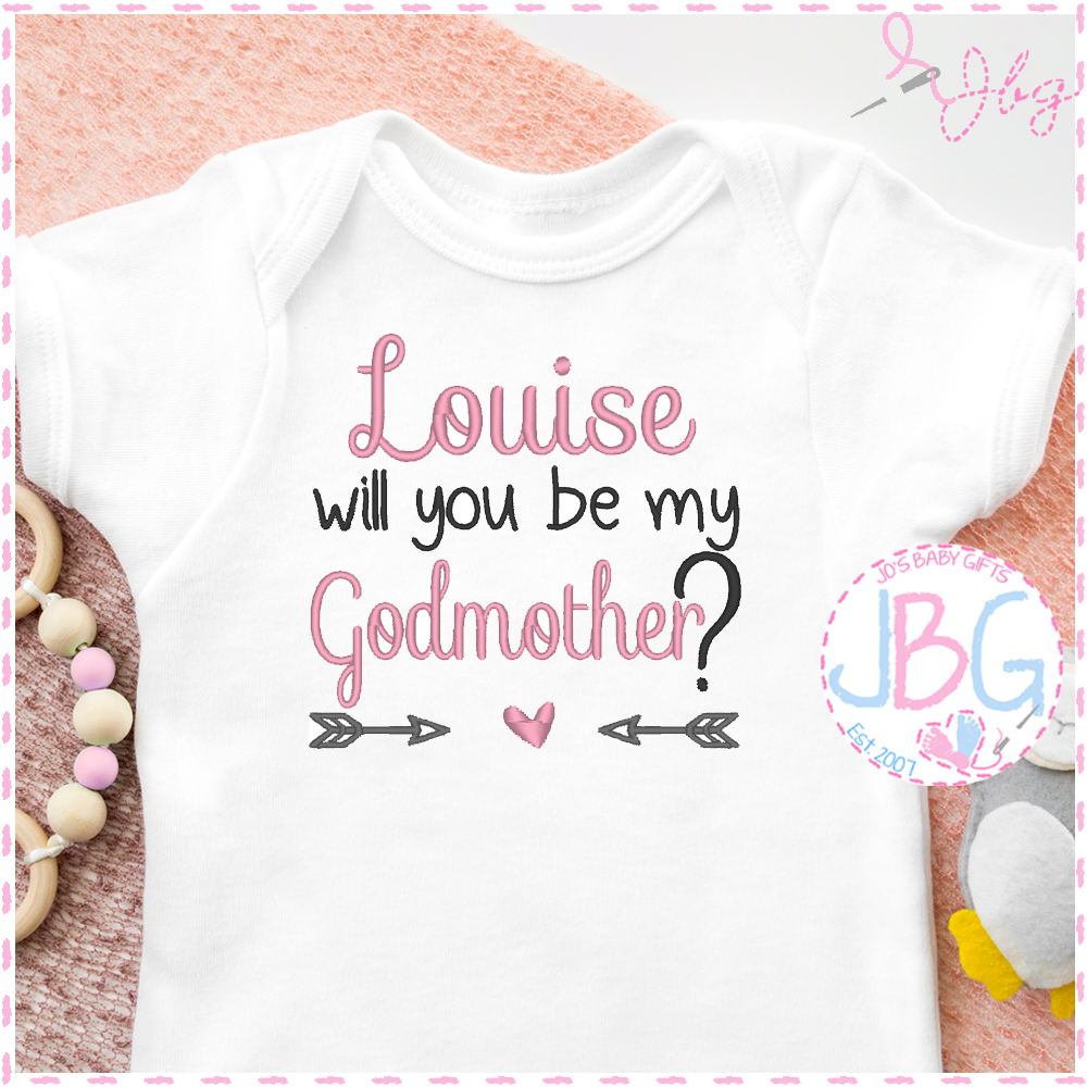 Godmother - Personalised Baby Vest