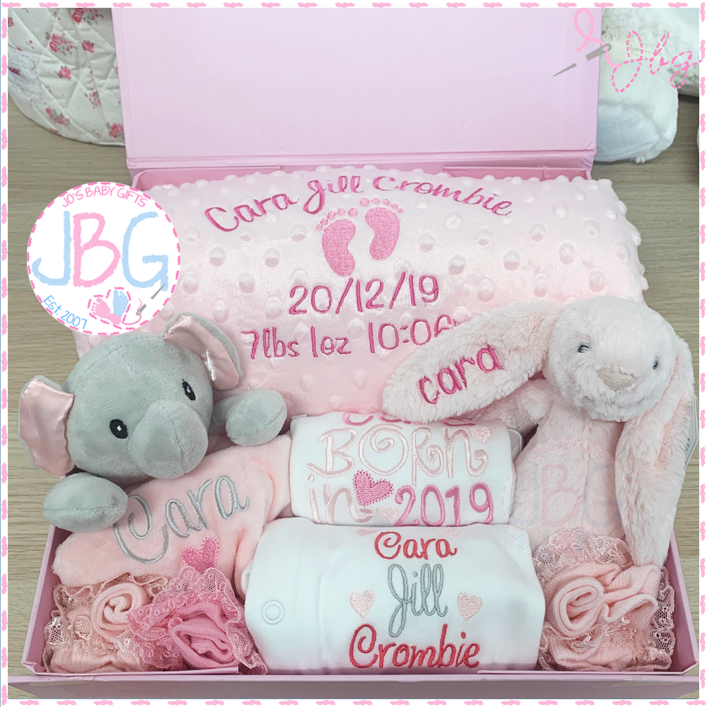 Ultimate Personalised New Baby Gift Set
