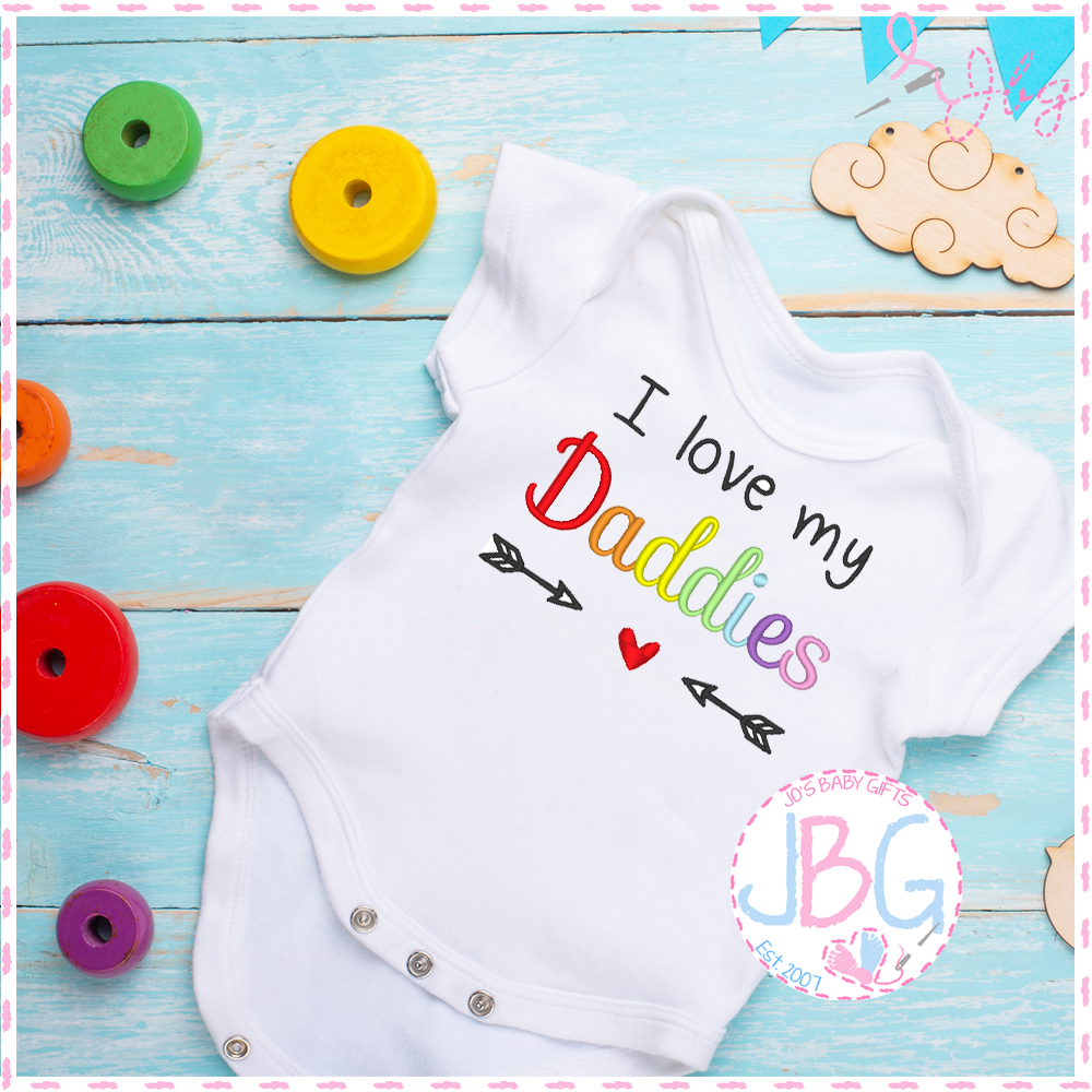 I love my Daddies  - LGBT Baby Vest