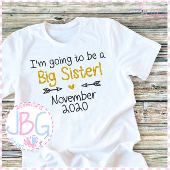 I'm going to be a big Sister/Brother- T-shirt