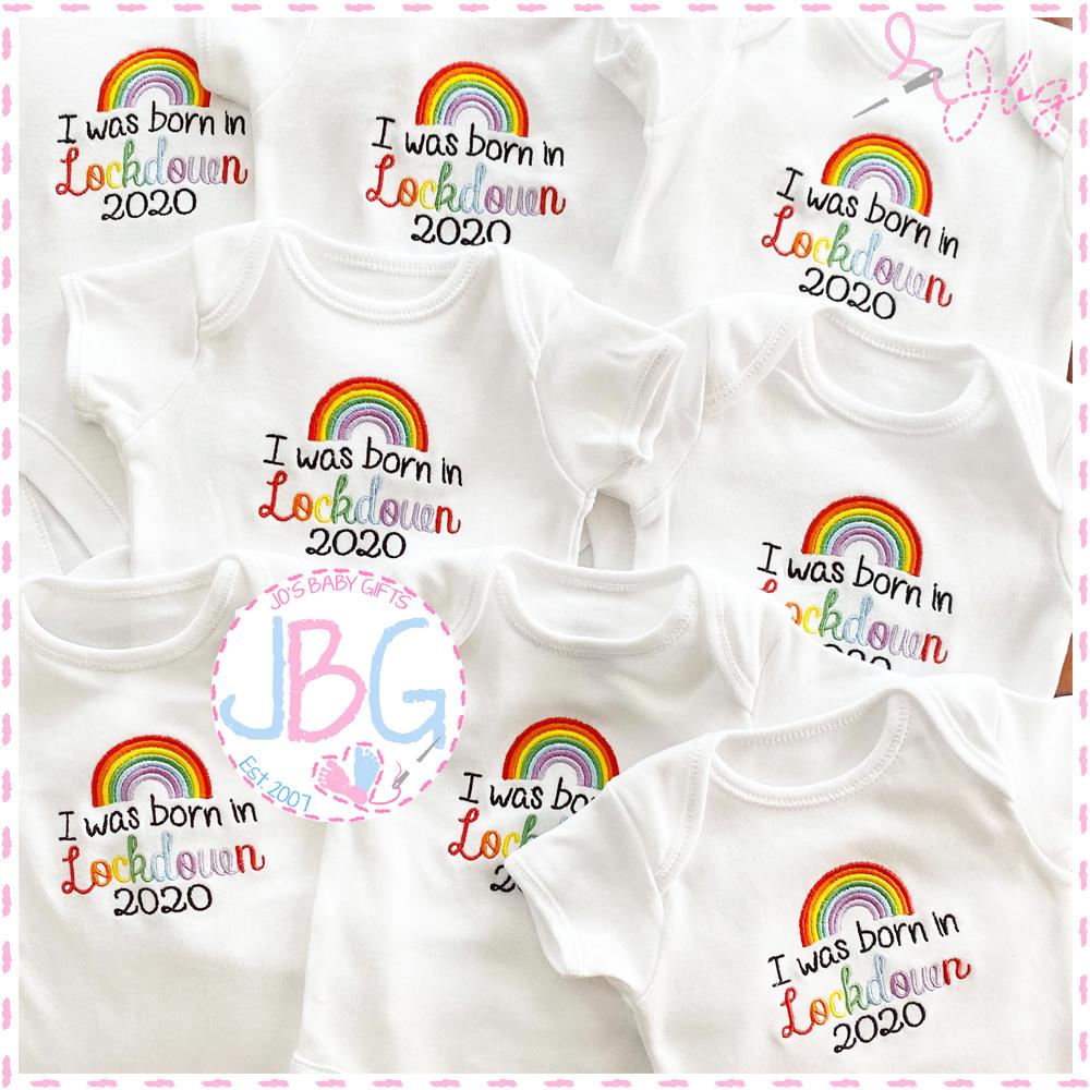 .I was born in Lockdown - Baby Vest