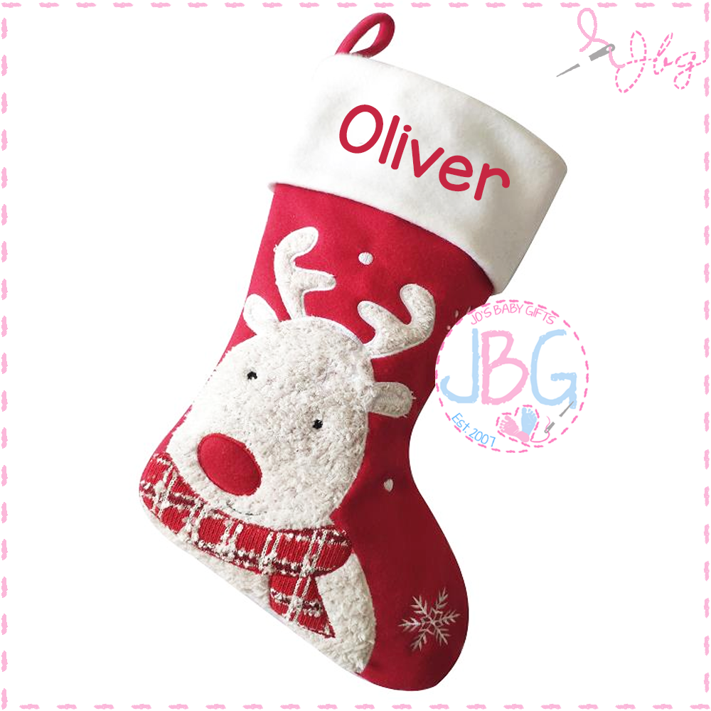Rudolf Christmas Stocking