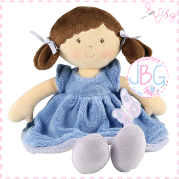Butterfly Blue personalised doll