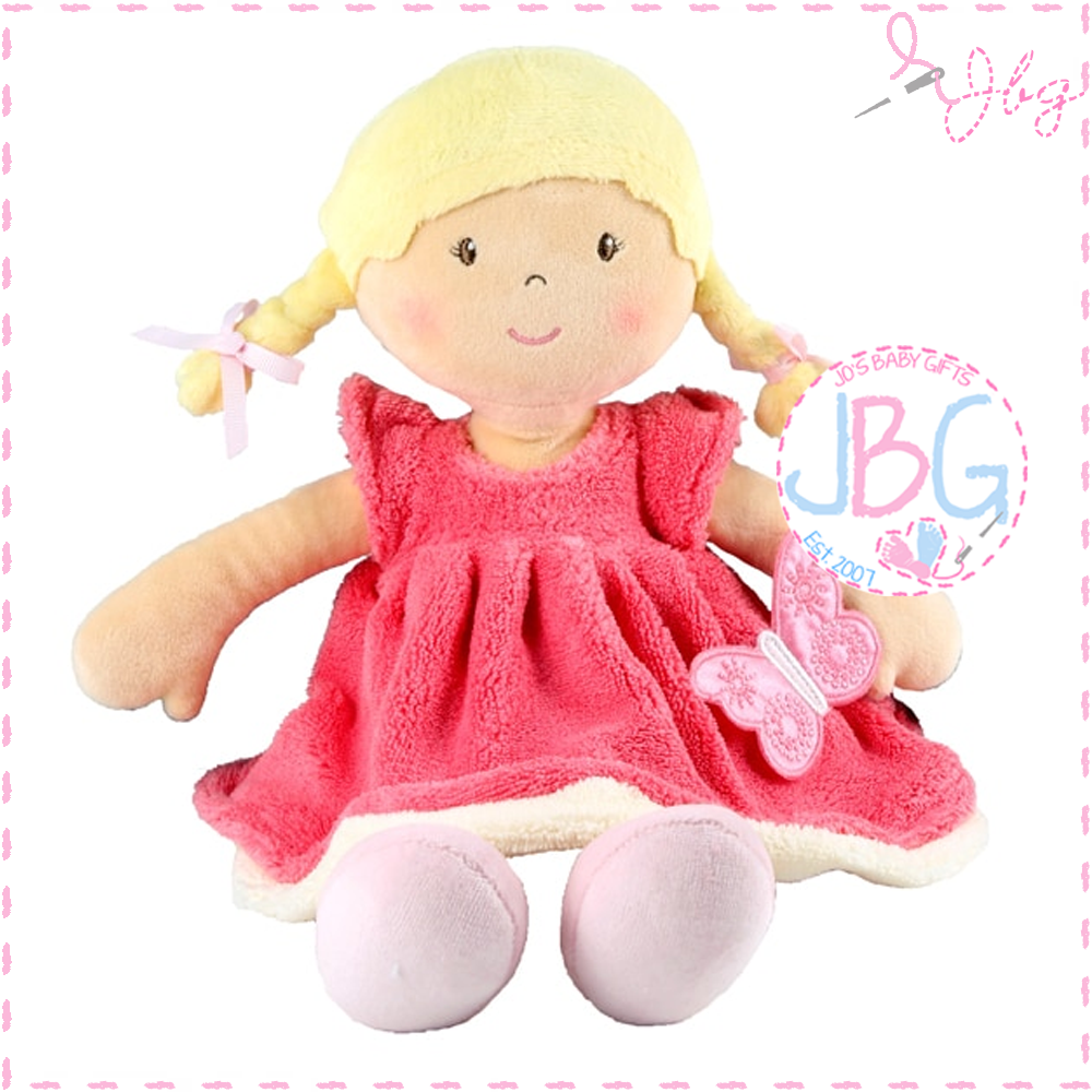 Butterfly Pink  personalised doll