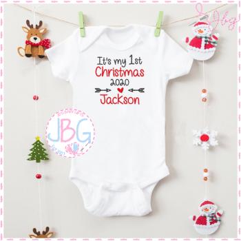 1st Christmas Personalised Vest - 2020