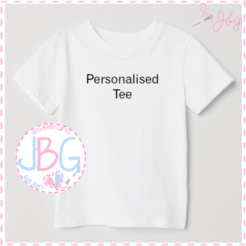 Embroidered Personalised Tee