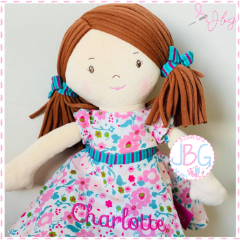 Personalised Rag doll - Fran