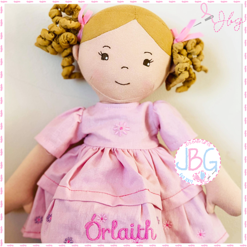 Personalised Rag Doll - Charlotte