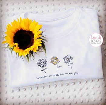 Sunflowers are pretty - Tee