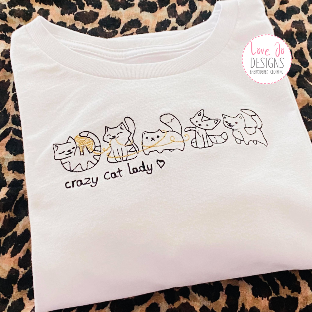 Mini Queen Bee Embroidered Tee