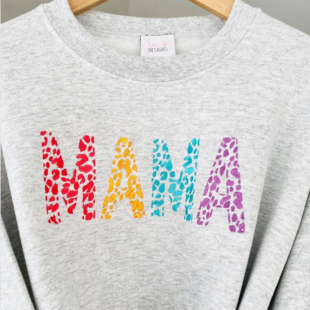 Embroidered Mama - you've got this - Sweater