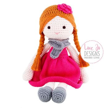 Crochet Handmade Doll Ava - Personalised