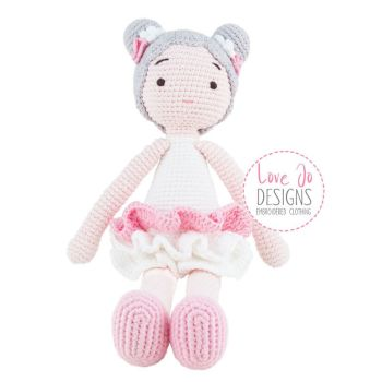 Crochet Handmade Doll Harriet