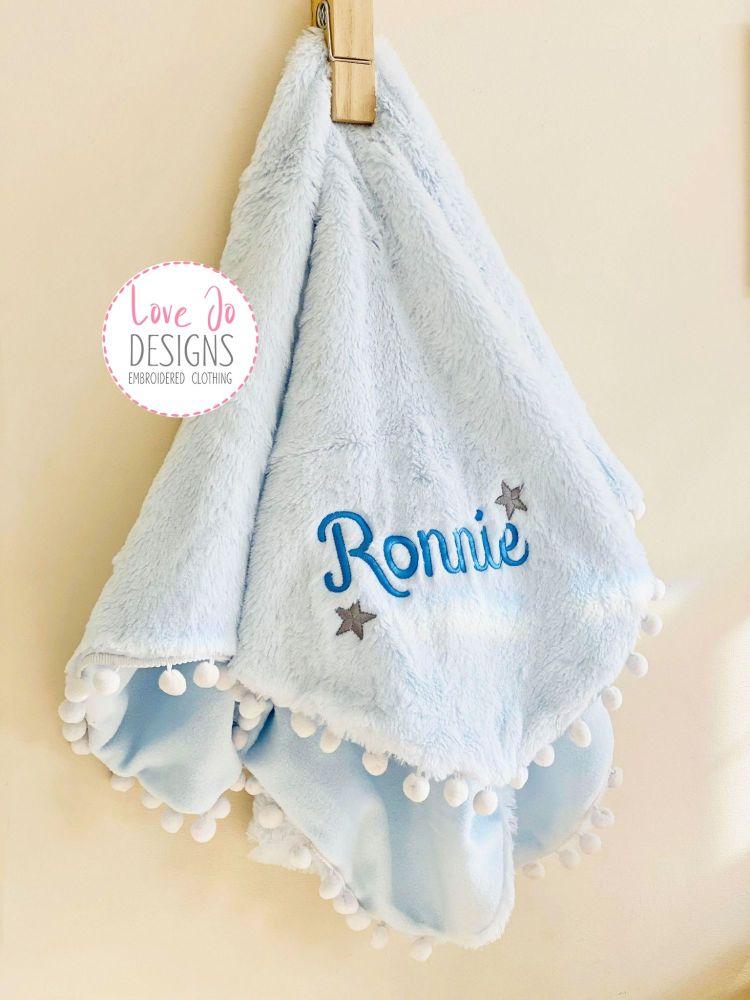 <!-- 123 -->Deep Fluffy Blue Blanket