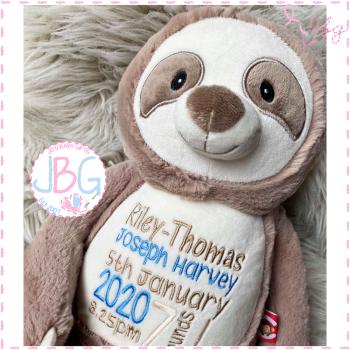 Sloth Cubby Bear