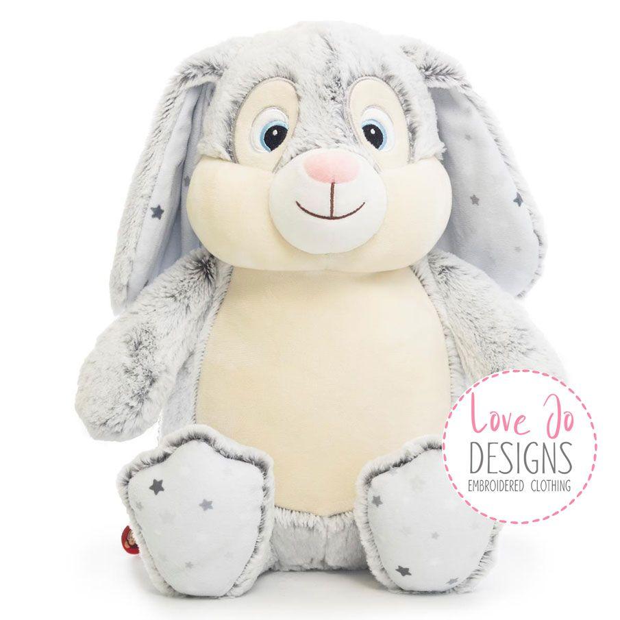 <!-- 001 --> Grey Clovis Brampton Cubby Bunny