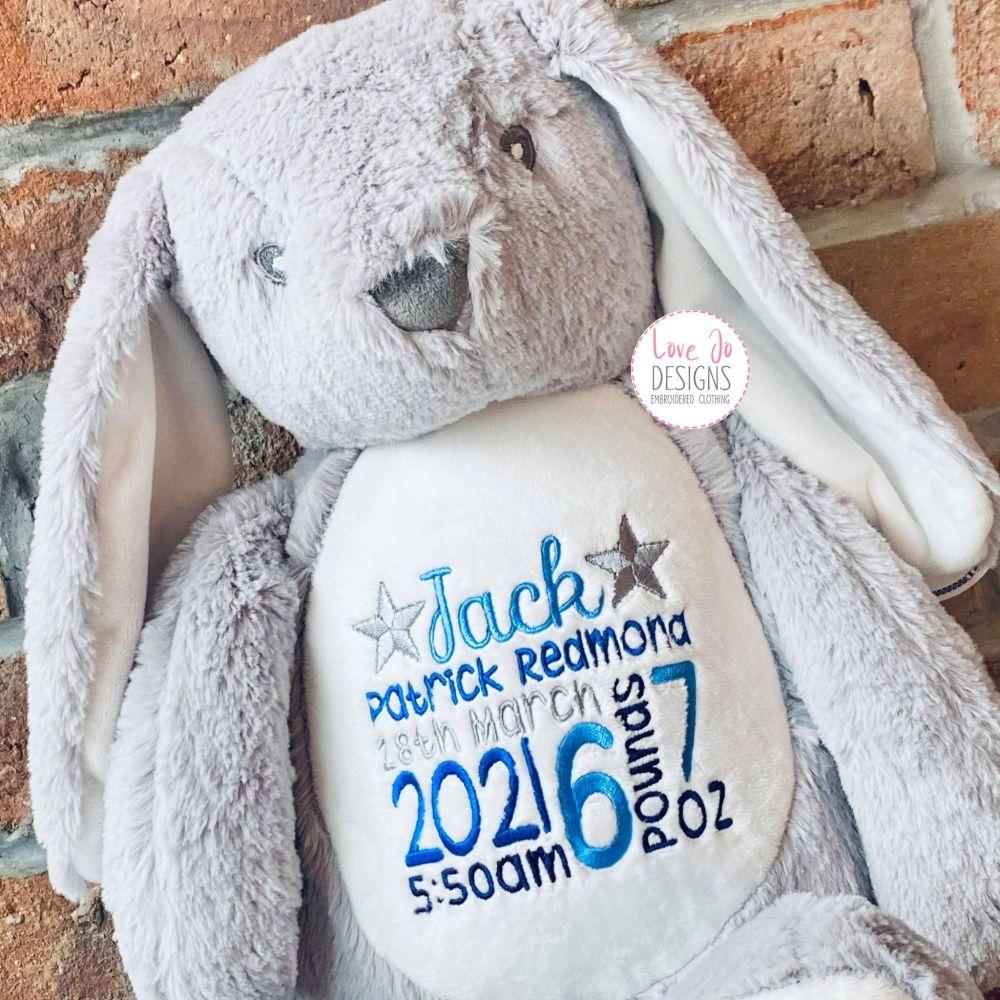 <!-- 100 --> Mumbles White Bunny