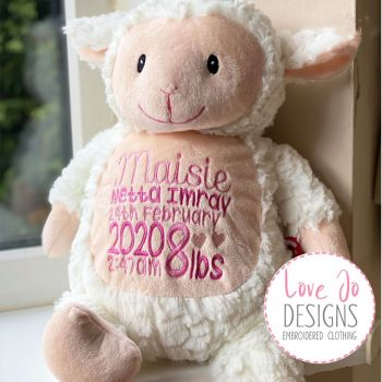 Loverby Cubby Fluffy Lamb