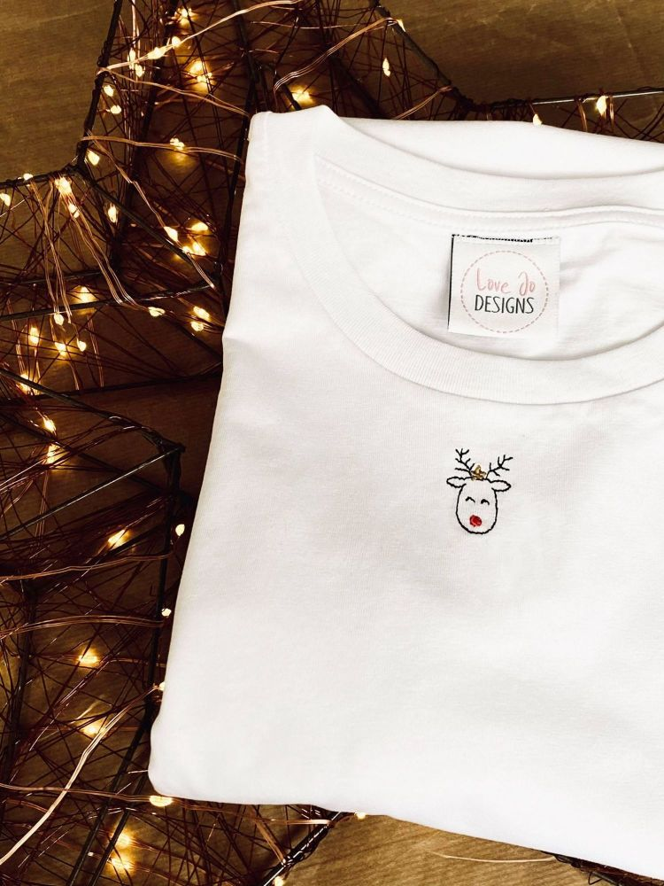 <!-- 001 --> Life is better with ice cream - Organic Embroidered Tee