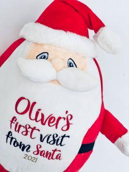 Personalised Santa Teddy