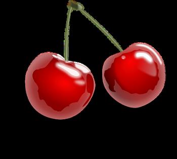 Cherries Wax pot