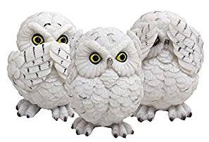 See Speak Hear No evil Owls