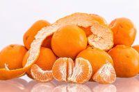 Mandarin Orange Wax pot