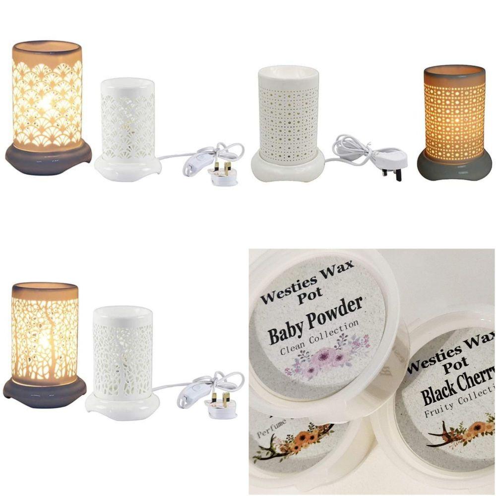 Electric burner bundle