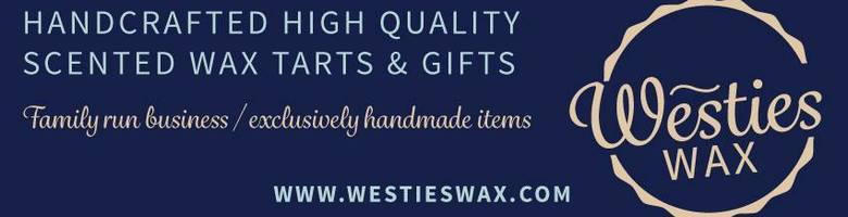 Westies Wax, site logo.