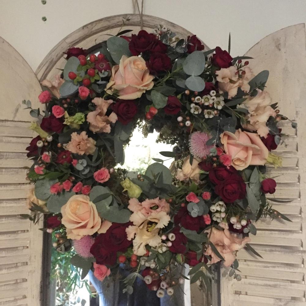 Floral Sympathy Wreath