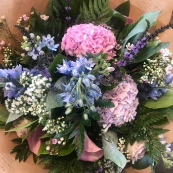 Seasonal Summer Handtied Bouquet Workshop - 30th August 2018