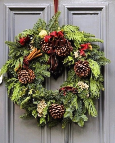Noelle Door Wreath