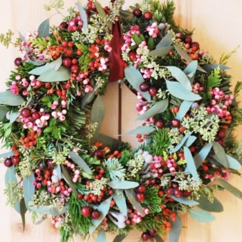 Eve Door Wreath