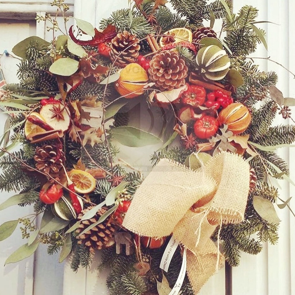 Jinger Door Wreath