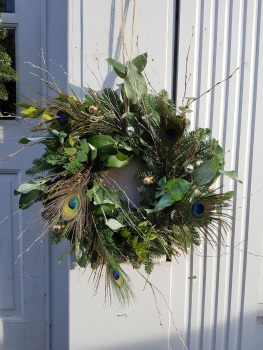 Monique Door Wreath