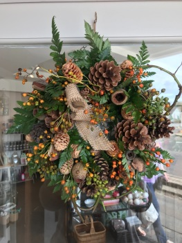 Autumnal Door Wreath