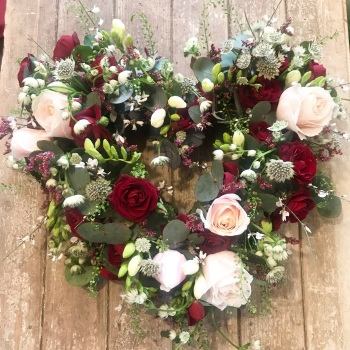 Valentine's Door Wreath