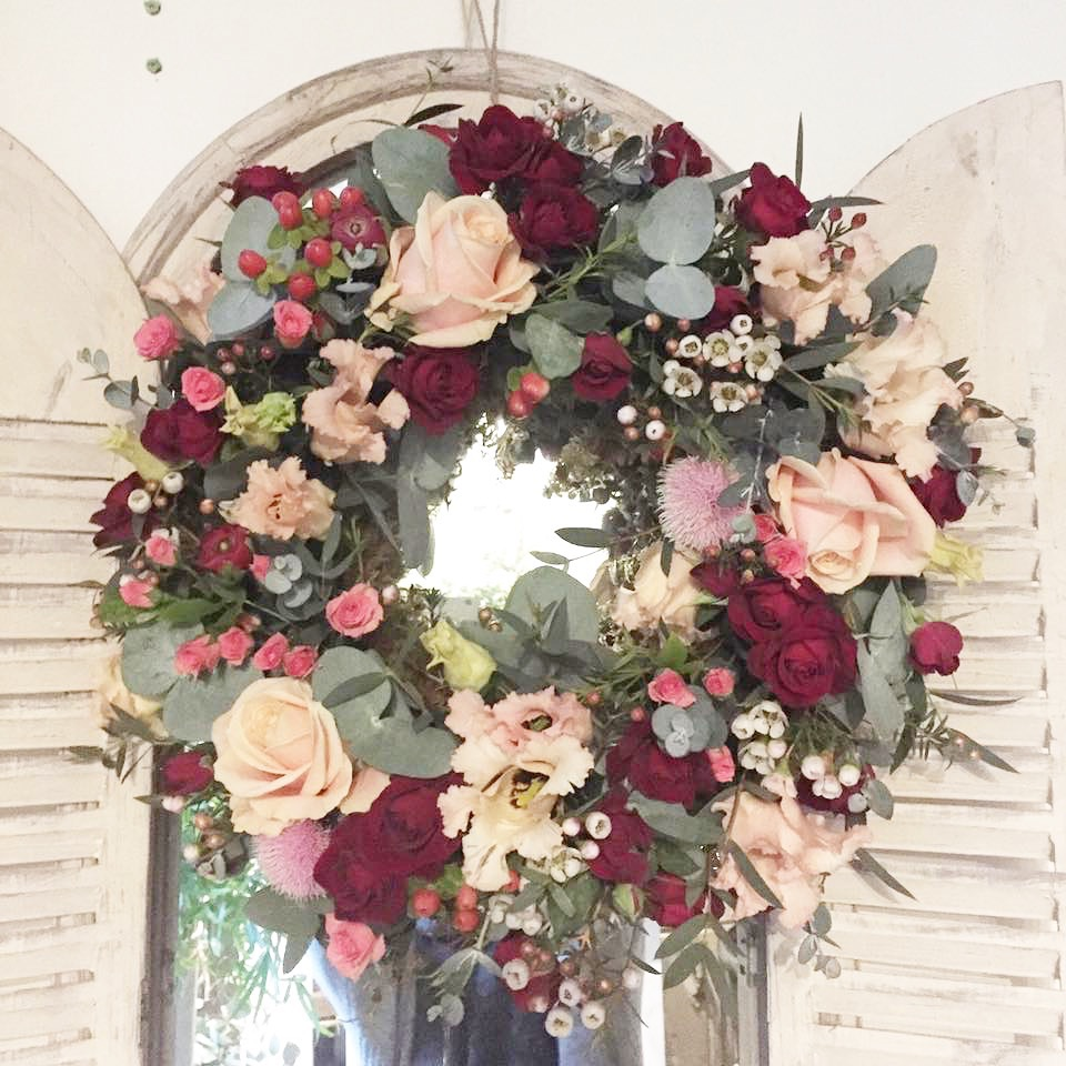Seasonal Floral Wreath Workshop