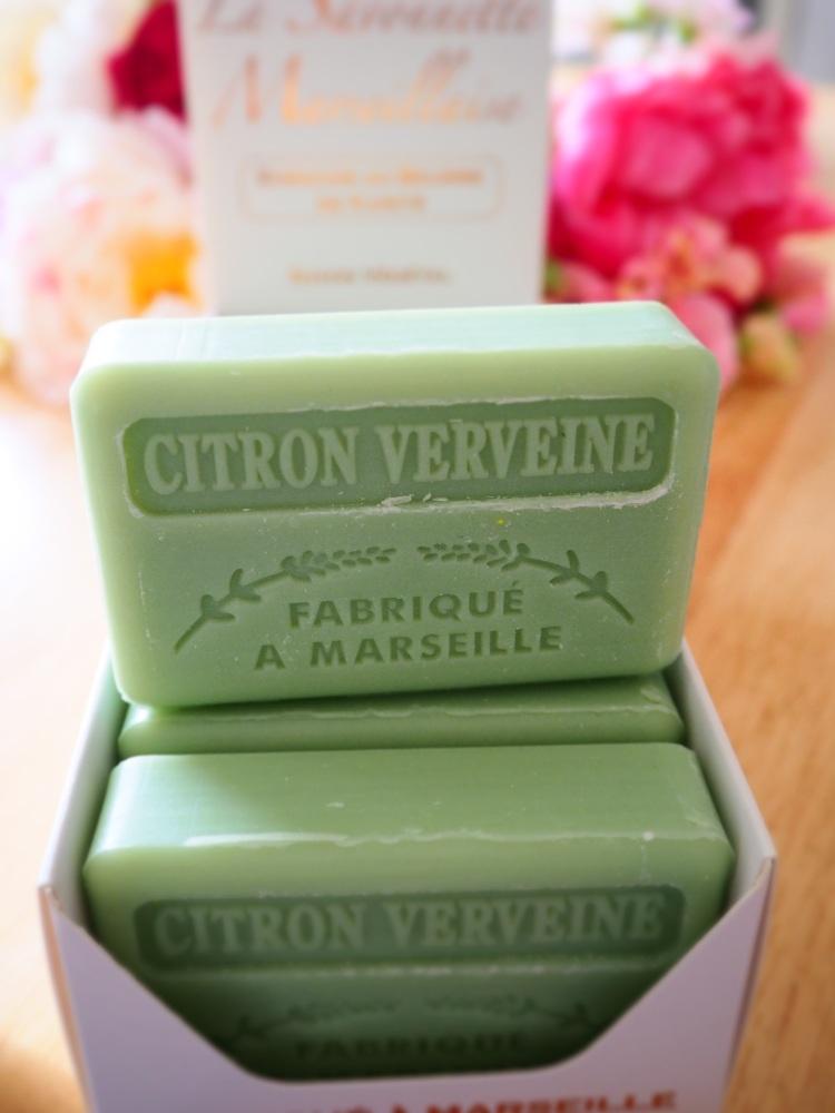 Citron Cerveine Savon De Marseille Soap 125G