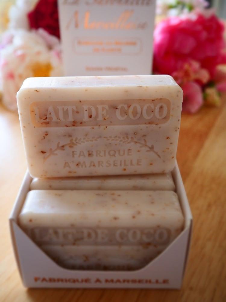 Lait De Coco Savon De Marseille Soap 125G