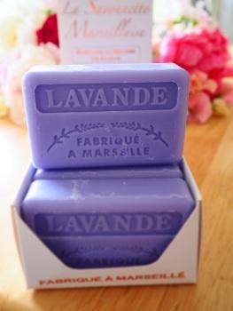 Lavande  Savon De Marseille Soap 125G